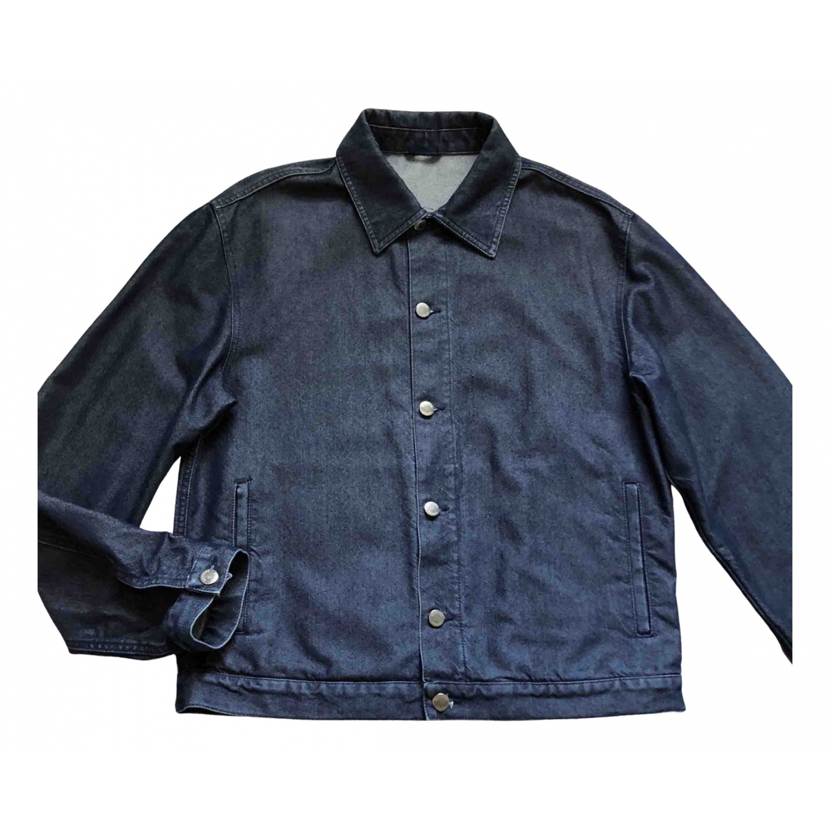 Moschino N Blue Denim - Jeans jacket  for Men 42 UK - US