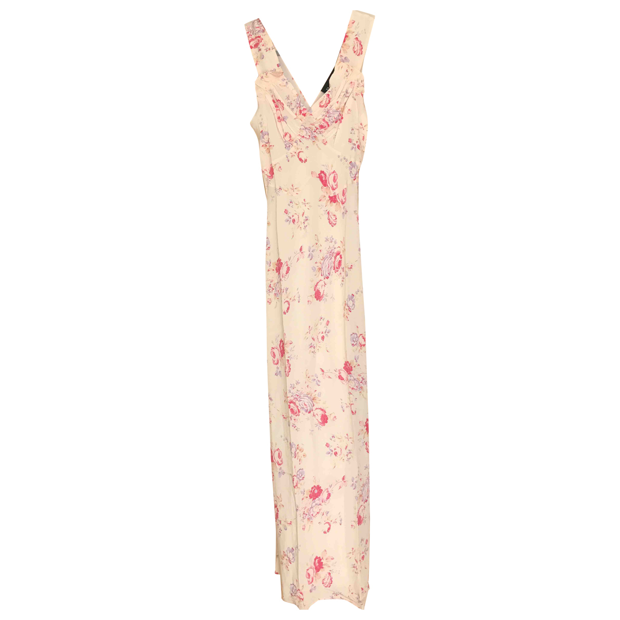 Réalisation \N Pink Silk dress for Women XS International