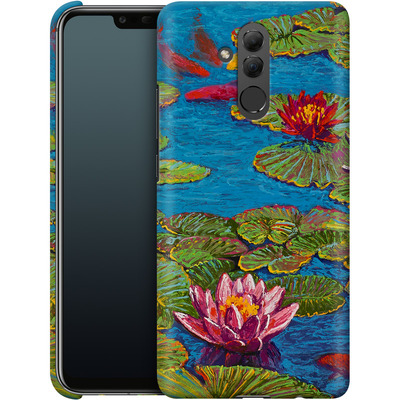Huawei Mate 20 Lite Smartphone Huelle - Will Cormier - Six Koi in Lilly Pond von TATE and CO