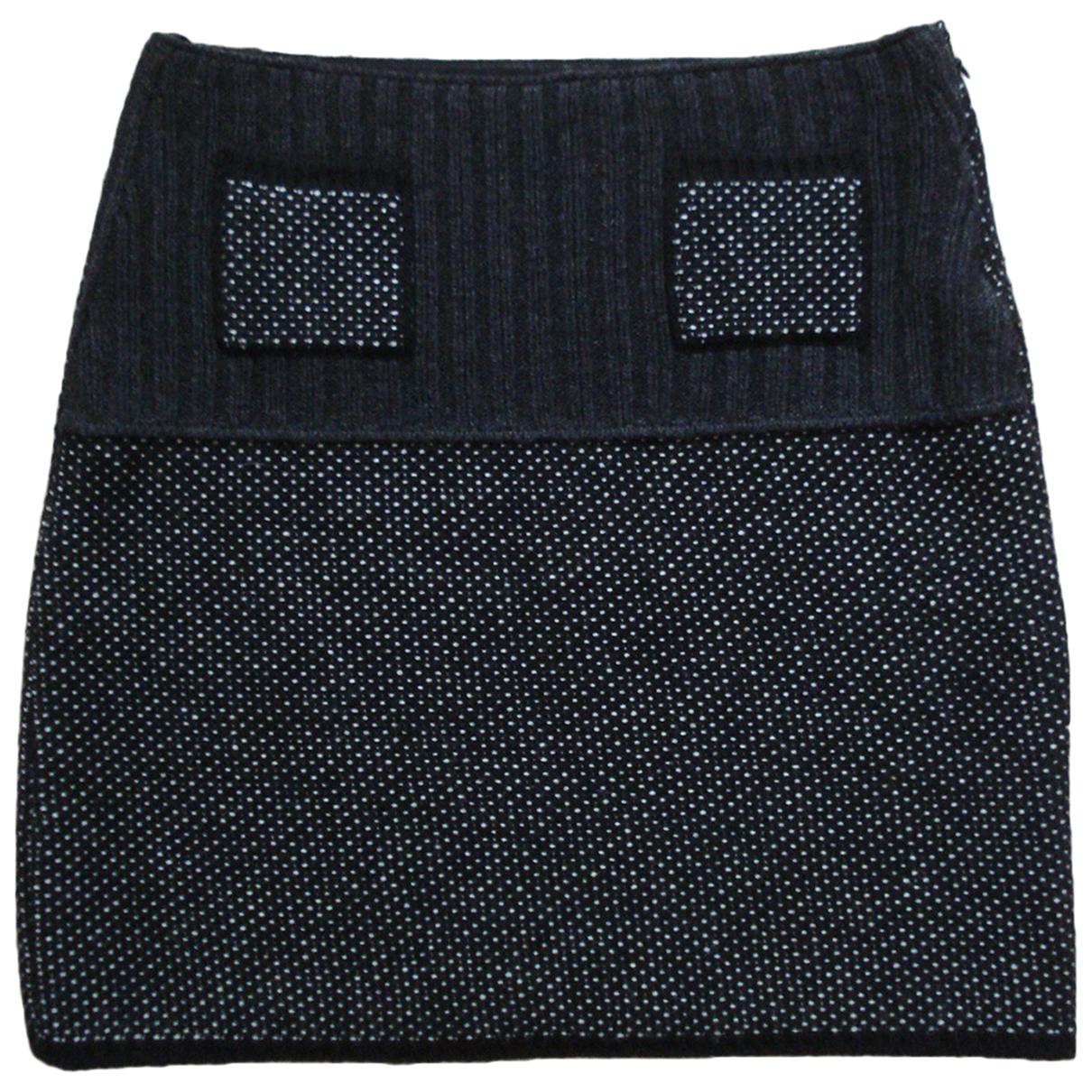 Prada N Black Wool skirt for Women 42 IT