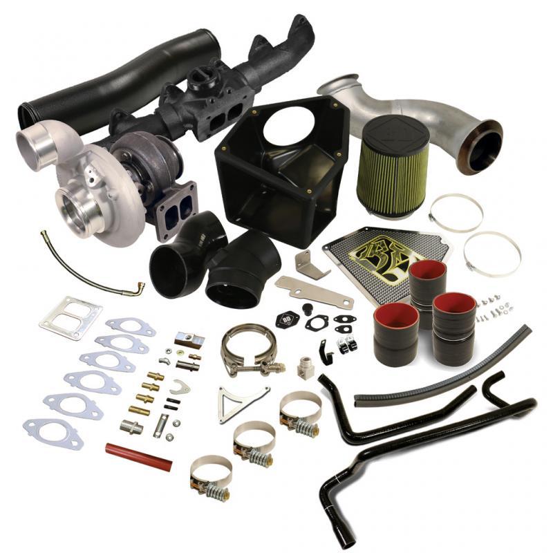 BD Diesel 1045746 Rumble B S369SX-E Turbo Kit - Dodge 2010-2012 6.7L Ram 2011-2012 6.7L 6-Cyl