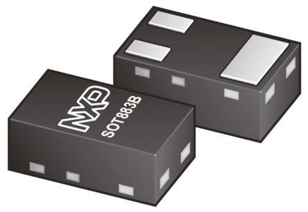 Nexperia P-Channel MOSFET, 680 mA, 20 V, 3-Pin SOT-883B  PMZB670UPE,315 (25)