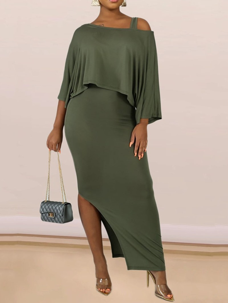Ericdress Split Casual Bodycon Pullover Two Piece Sets