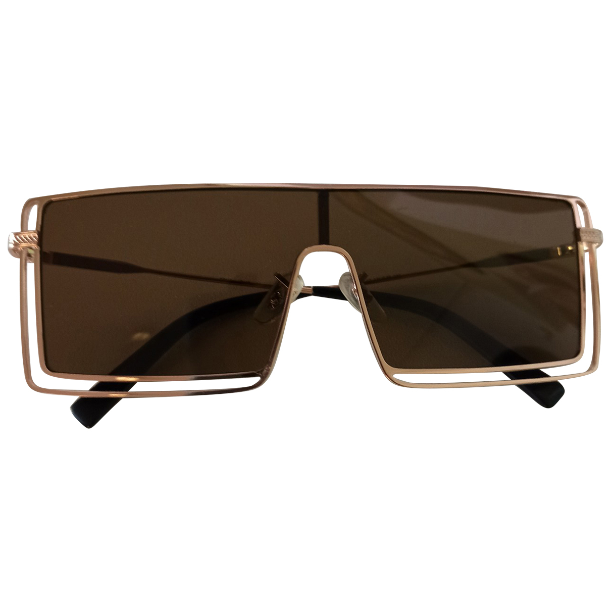 Zeus + Dione \N Gold Metal Sunglasses for Women \N