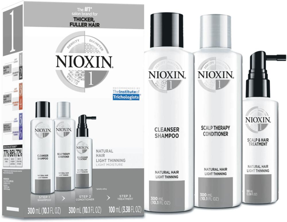 Hair Care Kit System 1, Fine/Normal to Light Thinning, Natural Hair - FullSize