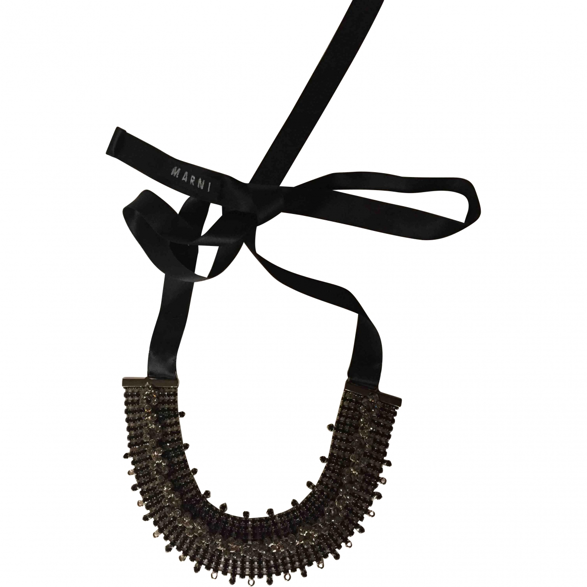Marni \N Black Metal necklace for Women \N