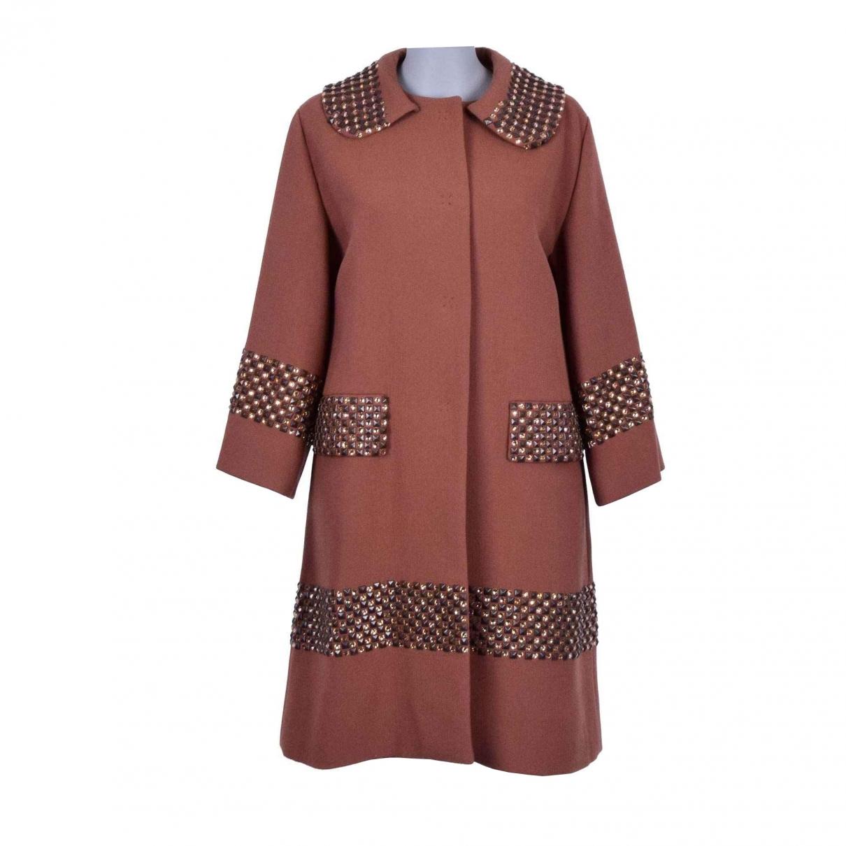 Dolce & Gabbana \N Brown Wool coat for Women 40 IT