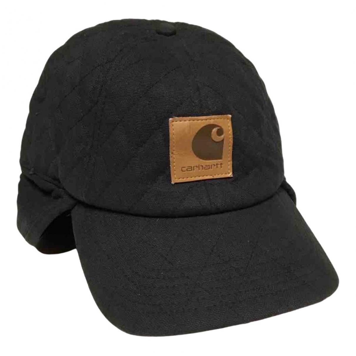 Carhartt - Chapeau & Bonnets   pour homme en toile - noir