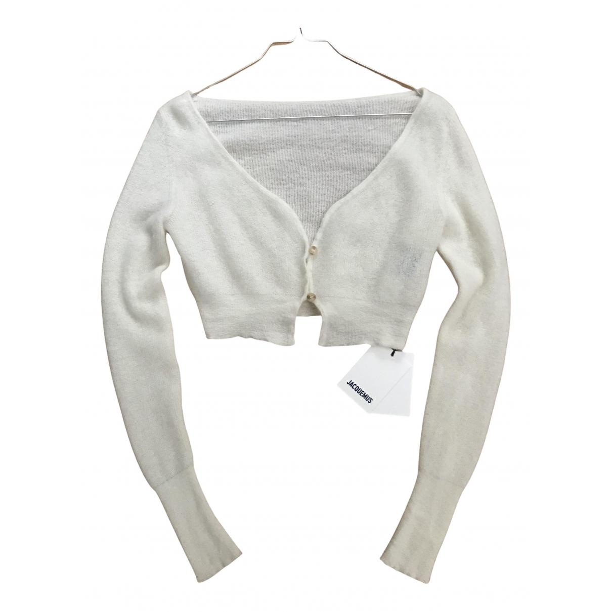 Jacquemus - Pull   pour femme en laine - ecru