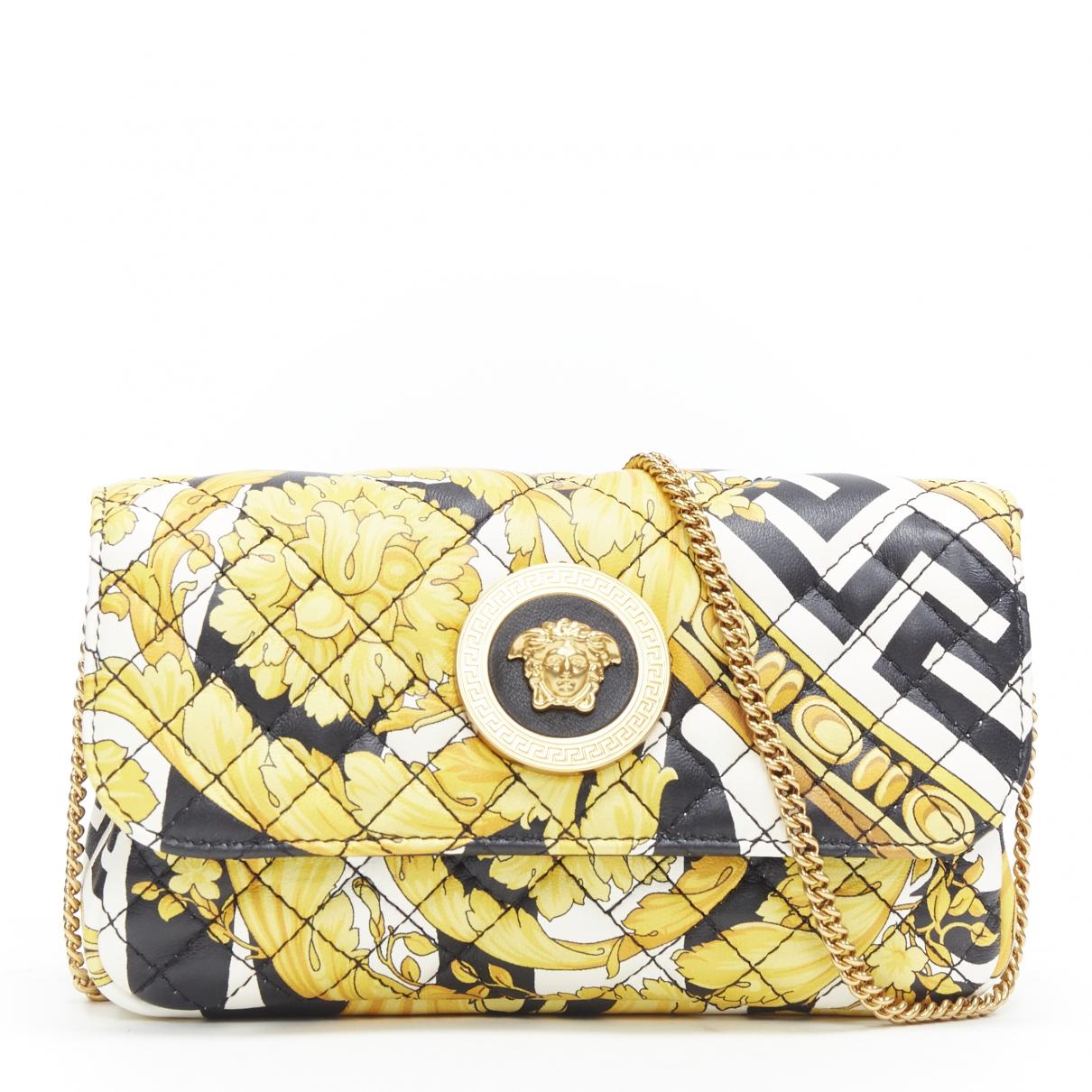 Versace \N Multicolour Leather handbag for Women \N