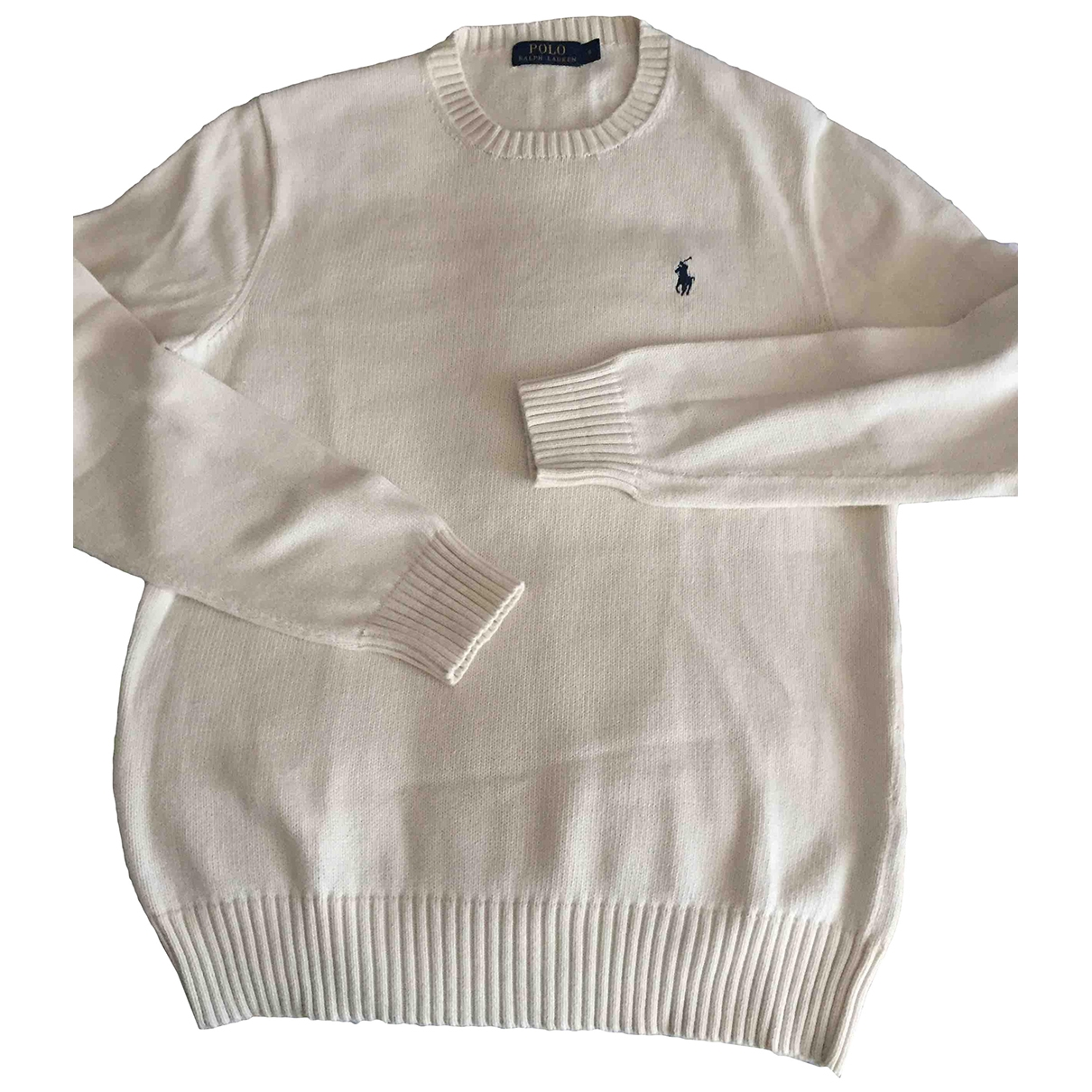 Polo Ralph Lauren \N Pullover.Westen.Sweatshirts  in  Weiss Baumwolle