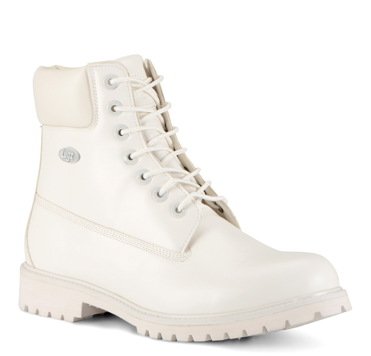 Men's Convoy 6-Inch Boot (Choose Your Color: WHITE, Choose Your Size: 11.0)
