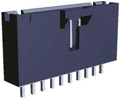 TE Connectivity , AMPMODU MTE, 10 Way, 1 Row, Straight PCB Header