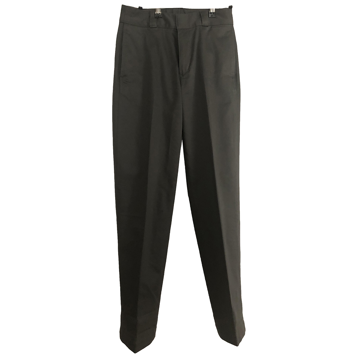 Uniqlo \N Grey Cotton Trousers for Women 36 FR