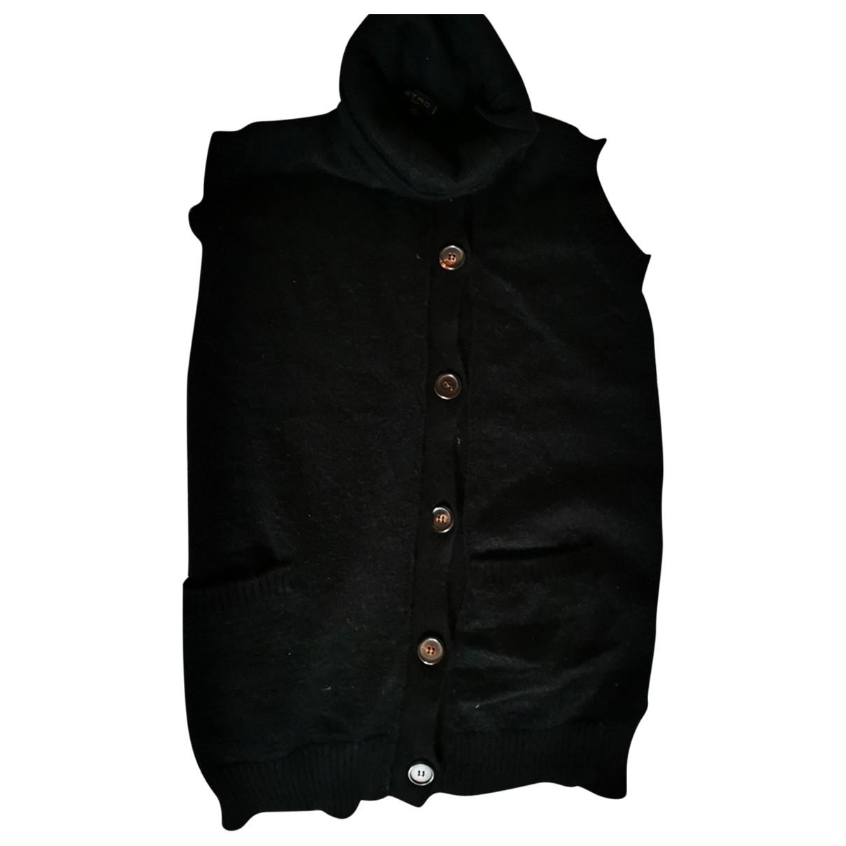 Etro \N Pullover in  Schwarz Wolle