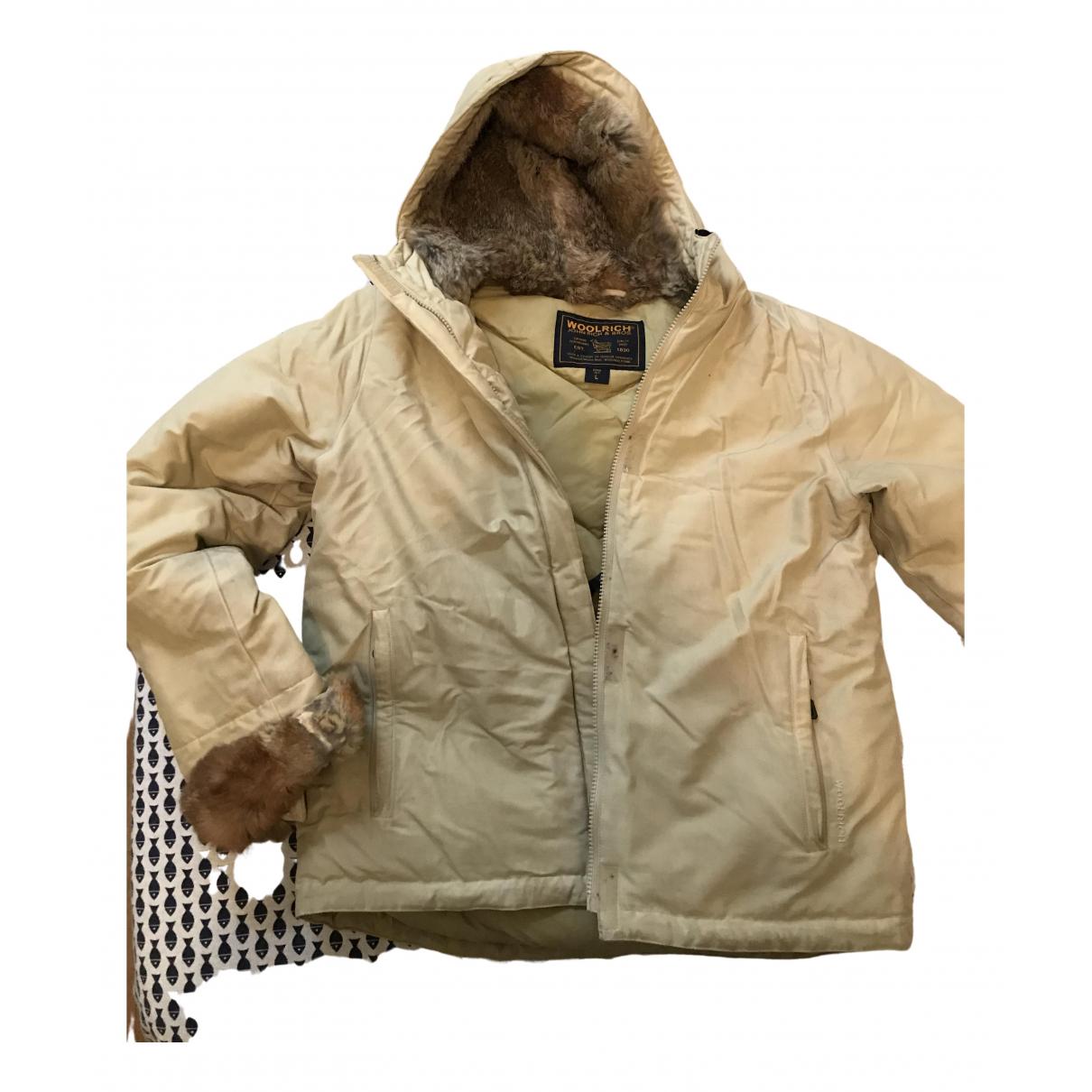 Woolrich - Veste   pour femme - beige