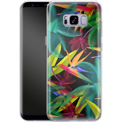 Samsung Galaxy S8 Plus Silikon Handyhuelle - Bird of Paradise von Mark Ashkenazi
