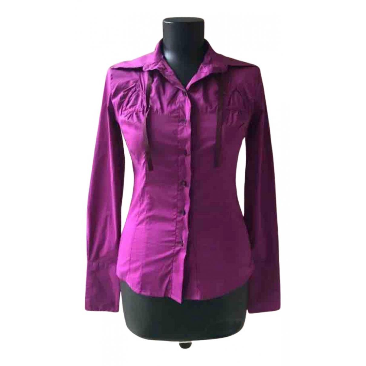 Sport Max - Top   pour femme en coton - violet