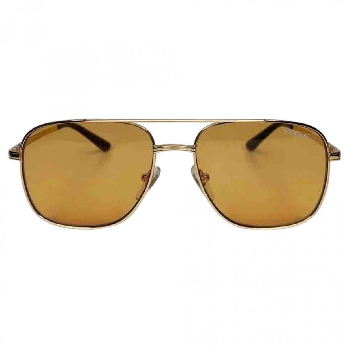 Vogue \N Sonnenbrillen in  Gold Metall