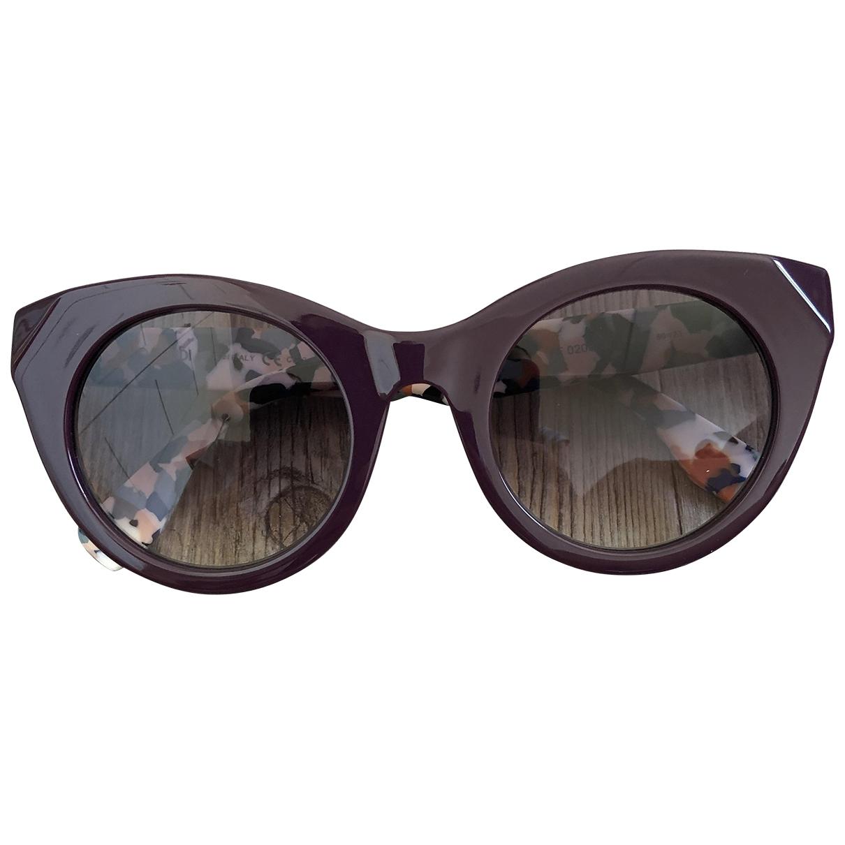 Fendi \N Purple Sunglasses for Women \N