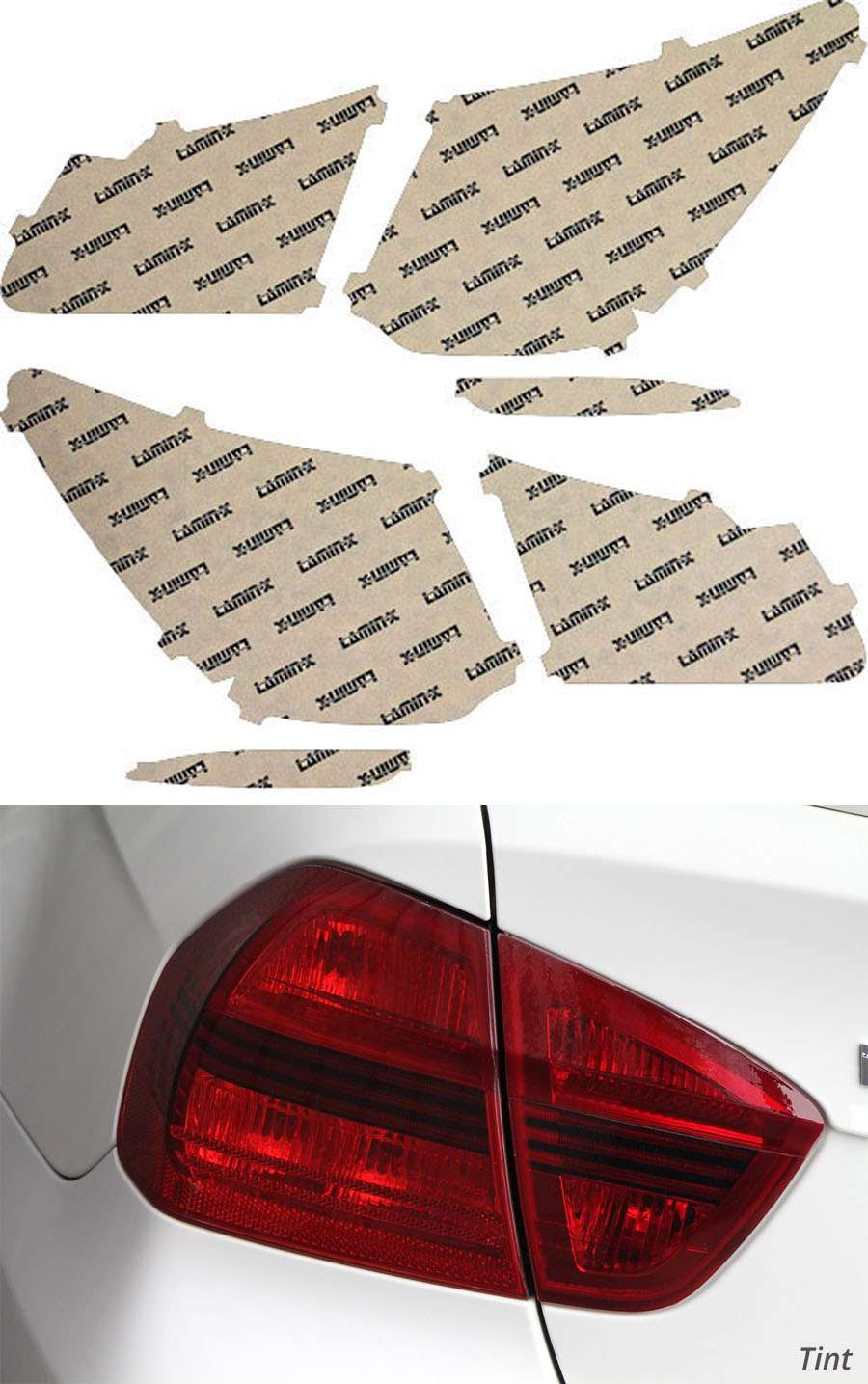 Acura RLX 14-20 Tint Tail Light Covers Lamin-X AC226T