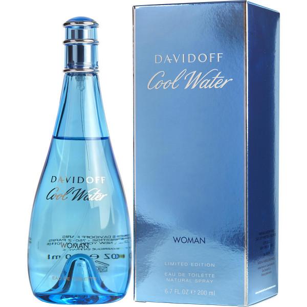 Cool Water Pour Femme - Davidoff Eau de Toilette Spray 200 ML