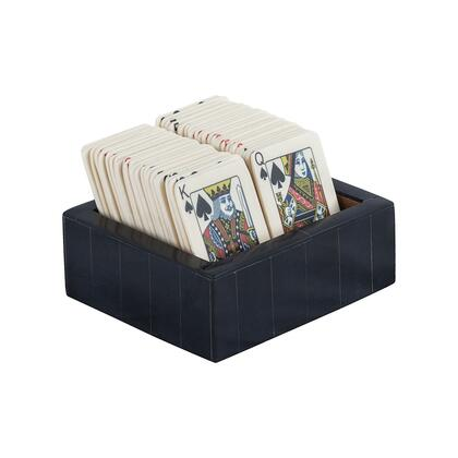 8903-069 Cardsharp Decorative Card Box  In Black