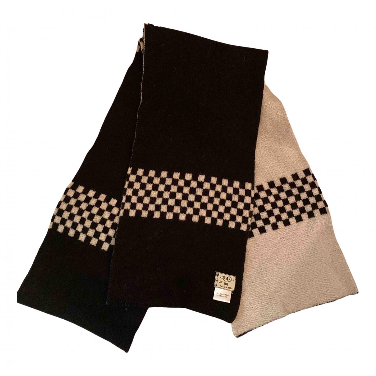 Paul Smith N Black Wool scarf & pocket squares for Men N
