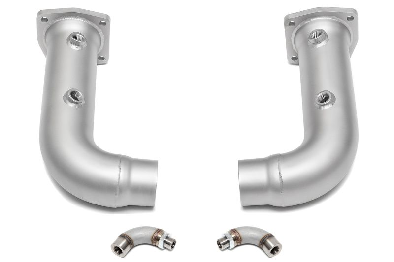 Soul Performance Race Pipes Catted O2 Spacers Pair Porsche 997.2 Turbo 10-12