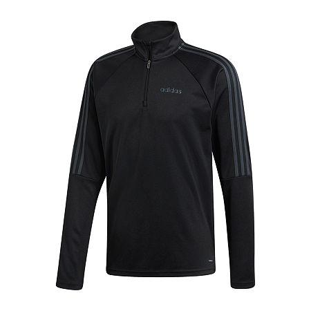 Adidas Serano 1/4 Zip Jacket, Medium , Black