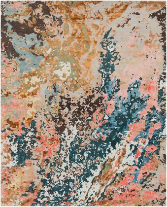 Chemistry CHM-2002 8' x 10' Rectangle Modern Rug in