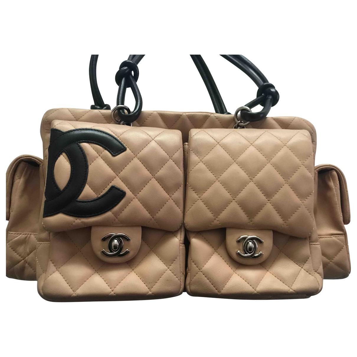 Chanel Cambon Camel Leather handbag for Women \N