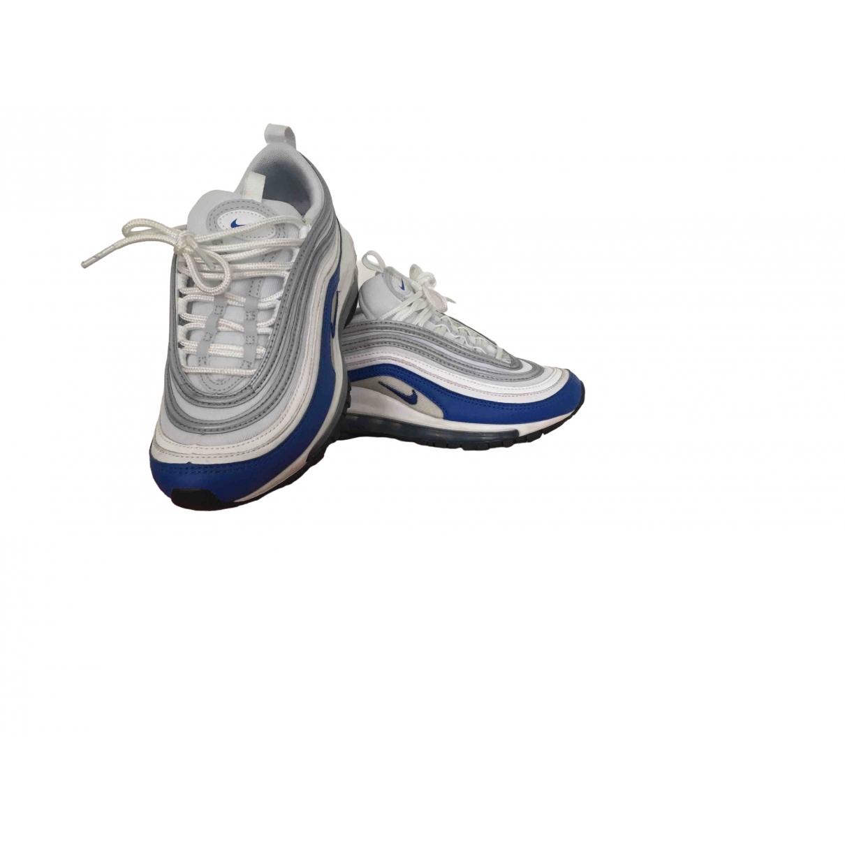 Nike - Baskets Air Max 97 pour femme en cuir - bleu