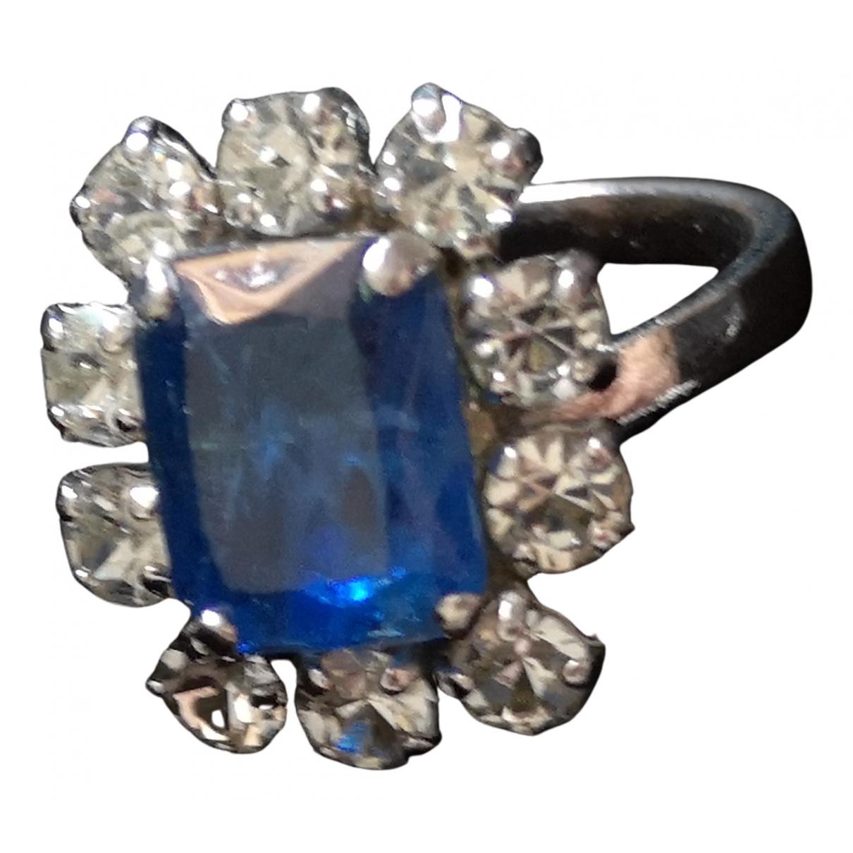 Dior - Bague   pour femme en acier - bleu