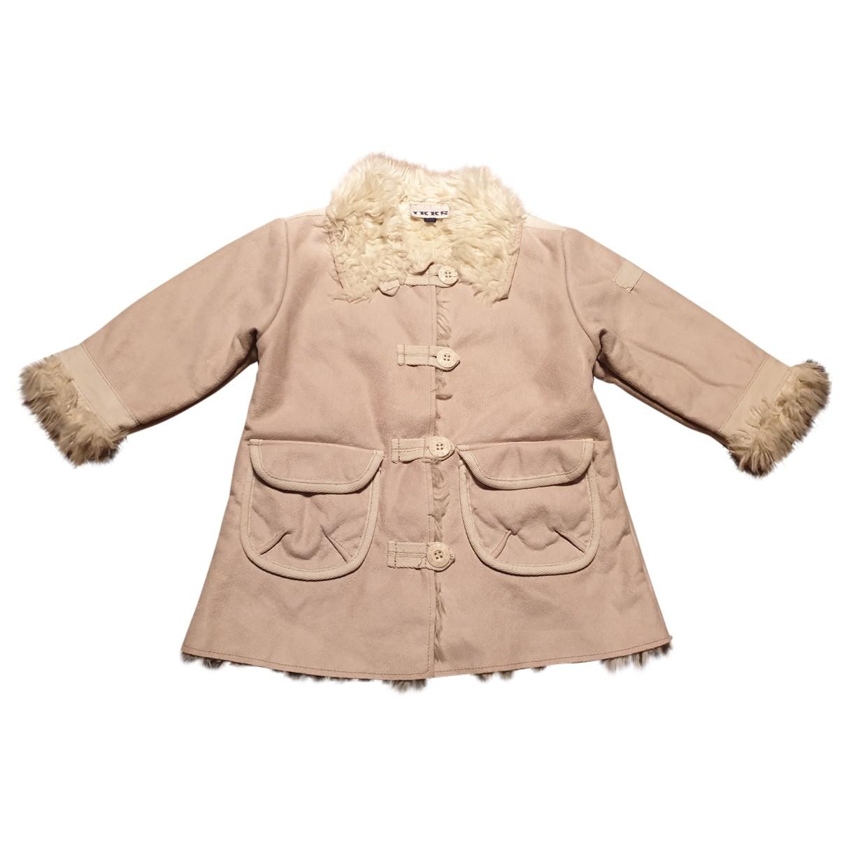 Ikks - Blousons.Manteaux   pour enfant - ecru