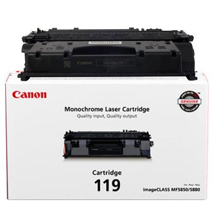 Canon 119 3479B001 Original Black Toner Cartridge