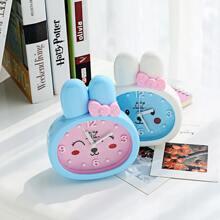1pc Rabbit Design Alarm Clock