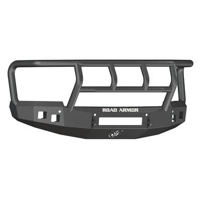 Road Armor Stealth Front Non-Winch Bumper with Titan II Guard (Texture Black) - 314R2B-NW