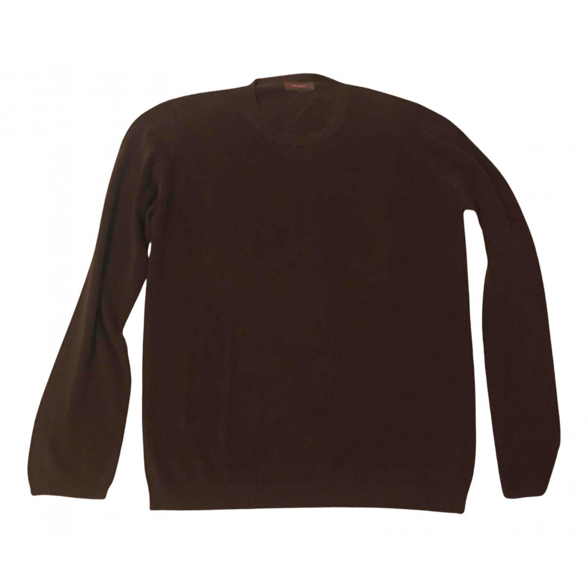 Prada N Brown Cotton Knitwear & Sweatshirts for Men 54 IT