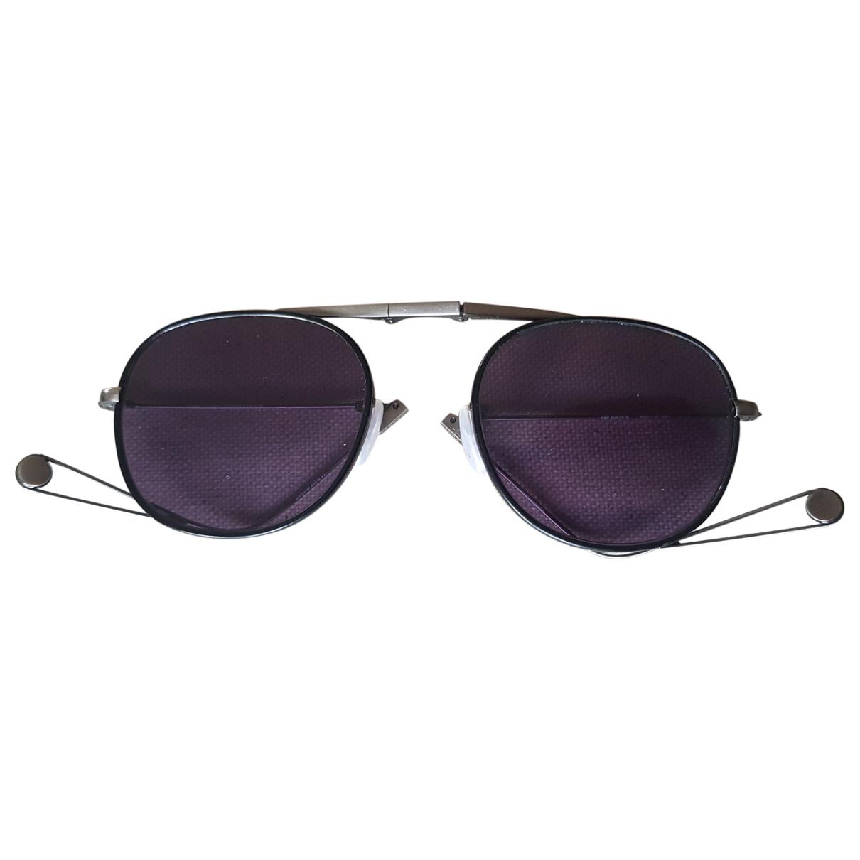 Garrett Leight \N Sonnenbrillen in  Schwarz Metall