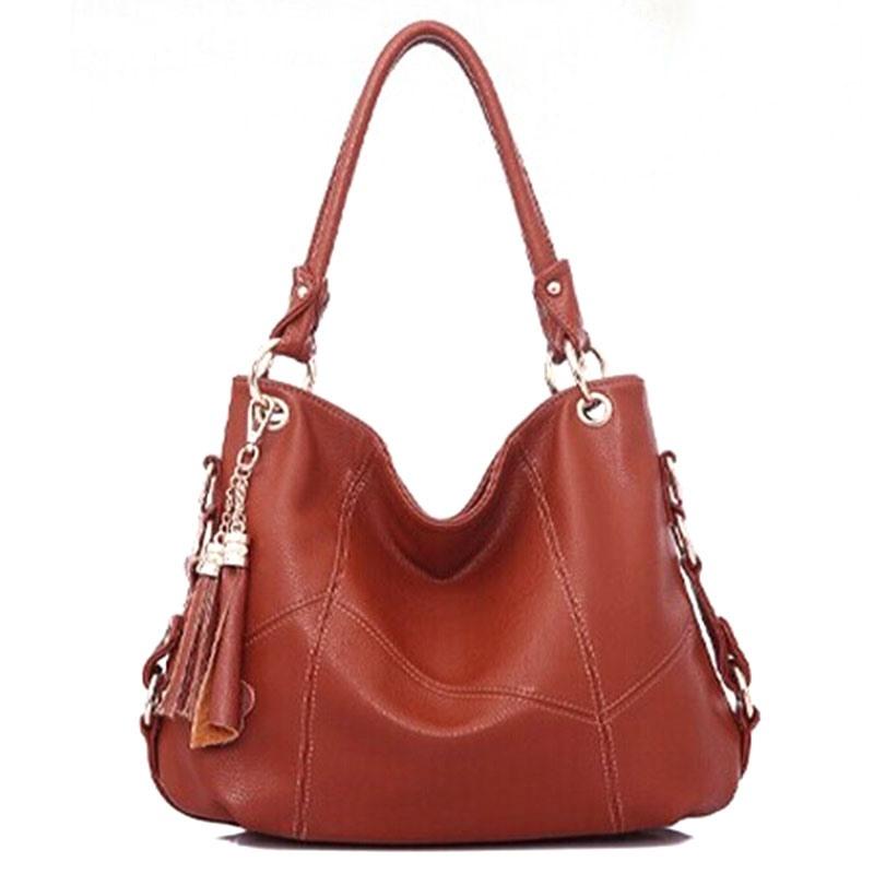 Ericdress Occident Style Tassel Patchwork Handbag
