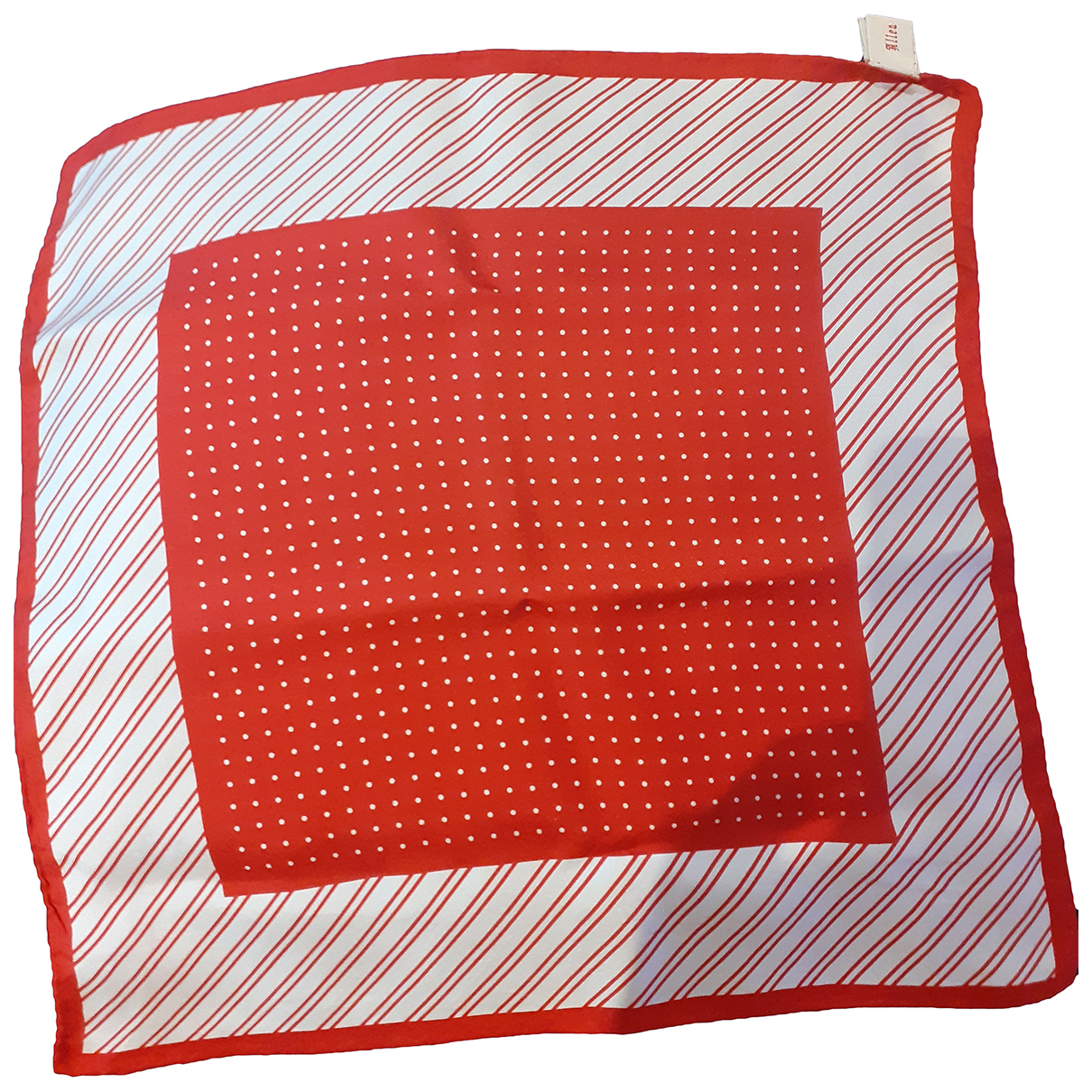 Altea N Red Silk scarf & pocket squares for Men N