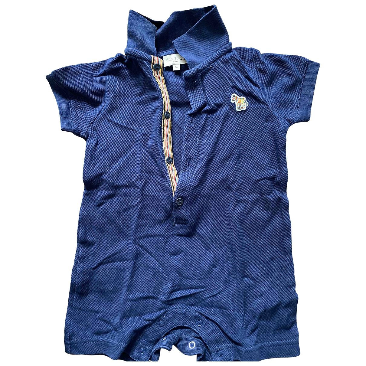 Paul Smith \N Blue Cotton Shorts for Kids 12 months - up to 74cm FR