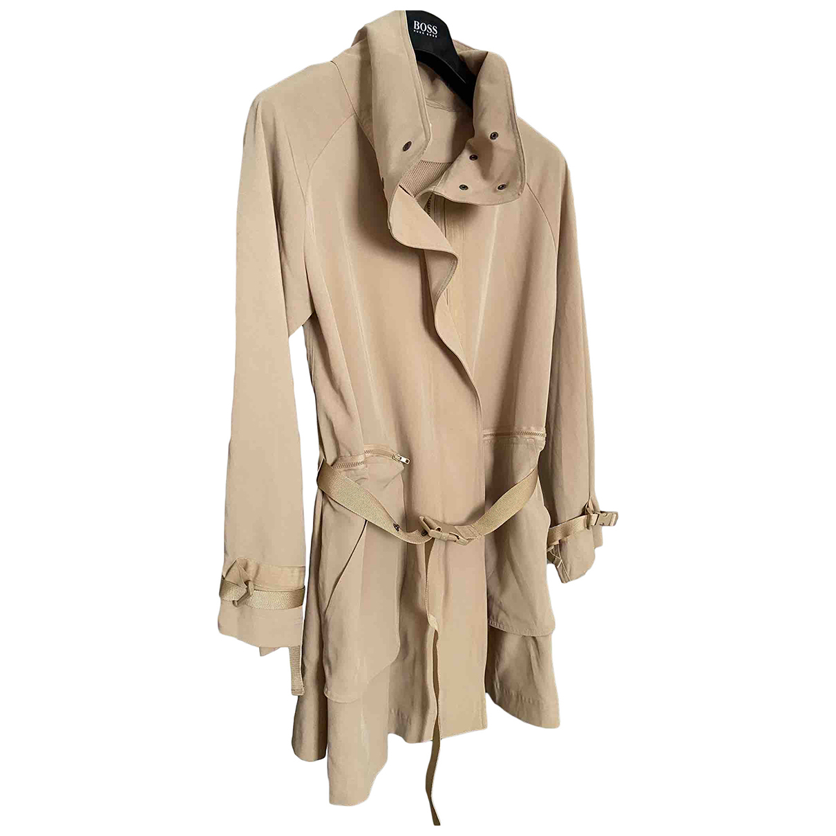 Balmain N Beige coat for Women L International