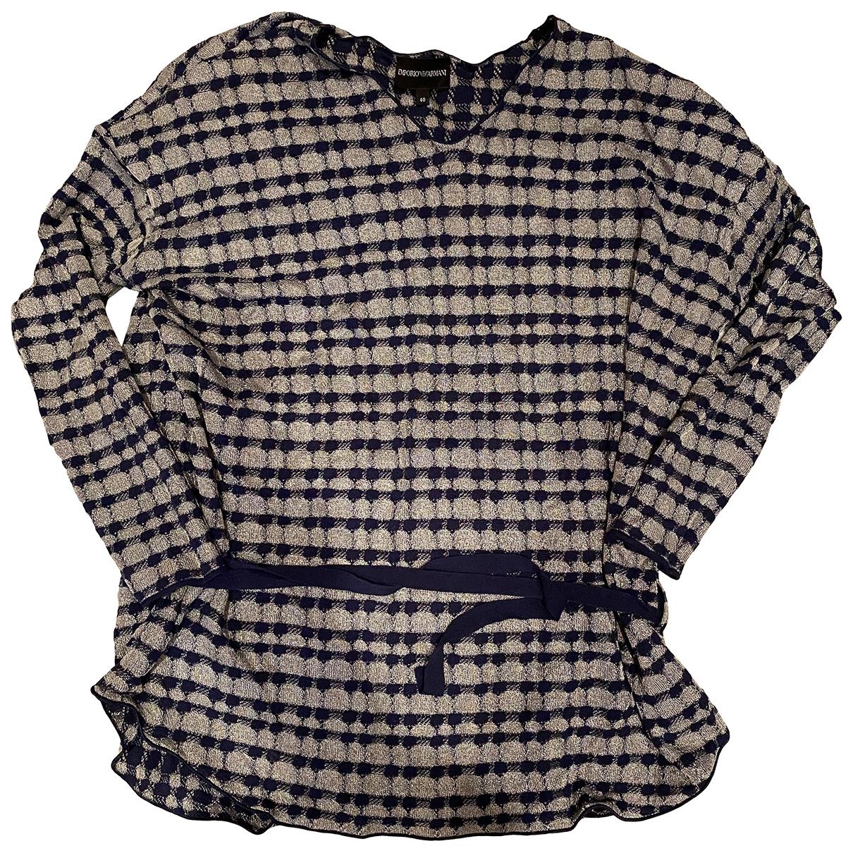 Emporio Armani - Pull   pour femme en coton