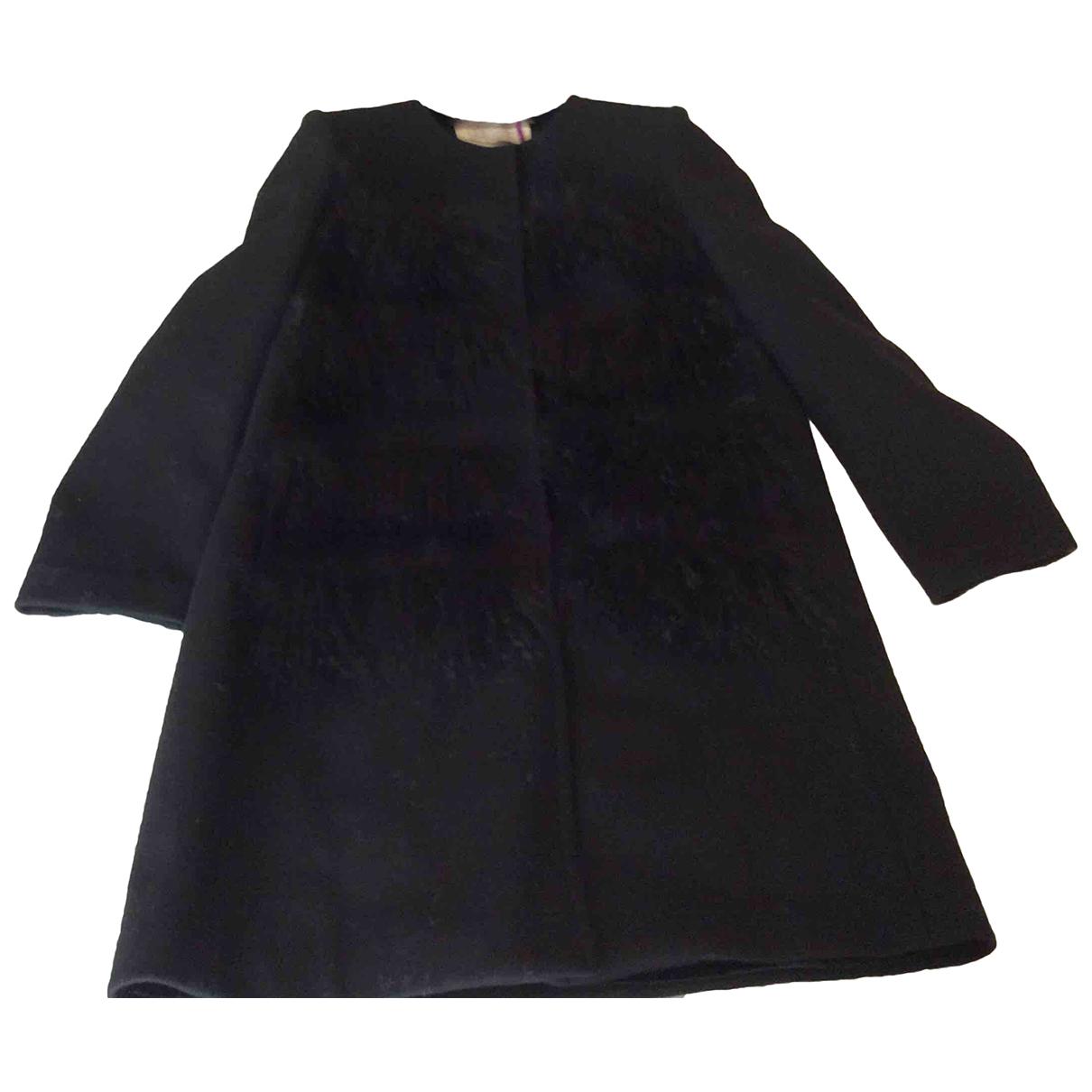 Autre Marque N Black Wool coat for Women 38 IT