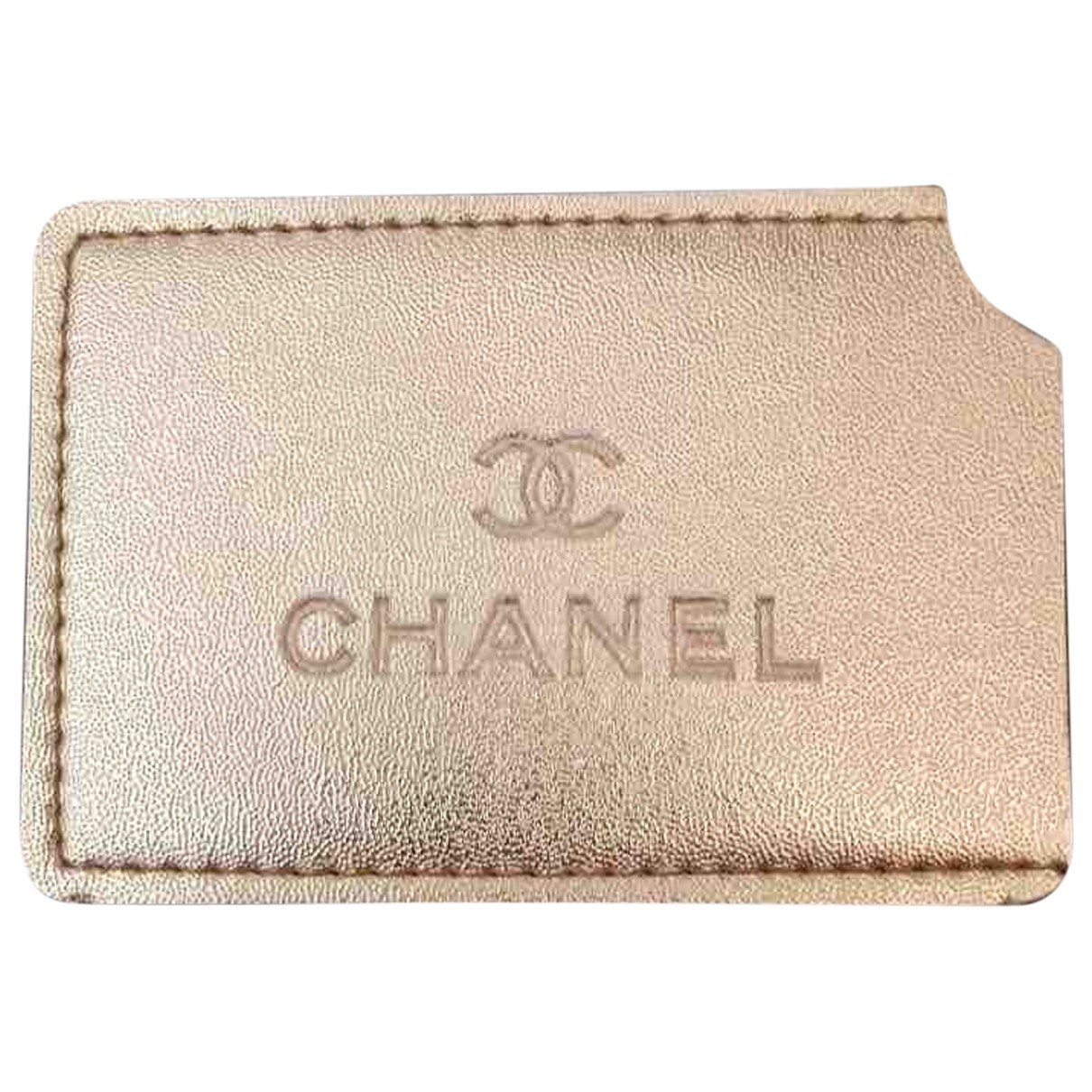 Chanel \N Accessoires und Dekoration in  Gold Synthetik
