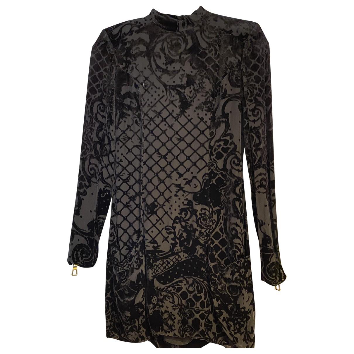 Balmain For H&m \N Black Velvet dress for Women 6 UK