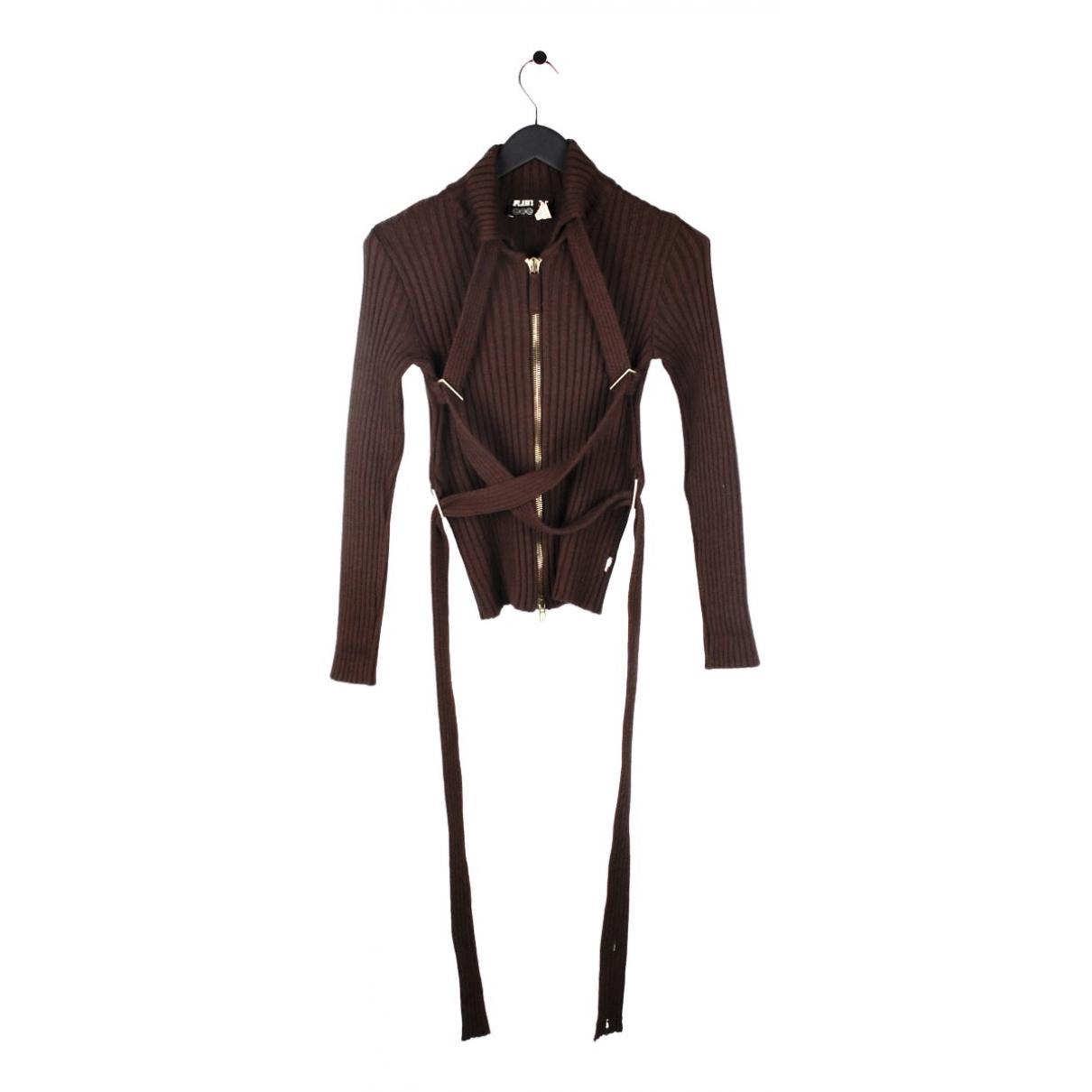 Jean Paul Gaultier N Brown Wool Knitwear for Women S International