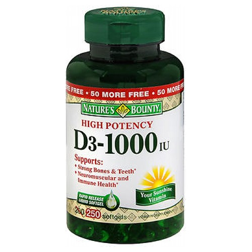 Nature's Bounty D3 High Potency 200 tabs by Nature's Bounty